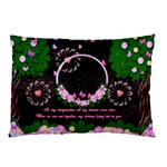In my garden of love pillow case