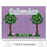 2015 My imagination 12 month calendar - Wall Calendar 11  x 8.5  (12-Months)