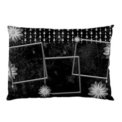 Black Marble Pillow Case(2 Sided) With Diamonds By Deborah   Pillow Case (two Sides)   Mbdwpykxse4a   Www Artscow Com Back