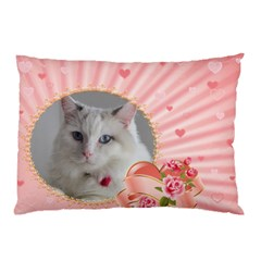 Pink Princess Pillow Case (2 Sided) By Deborah   Pillow Case (two Sides)   32s4rw53xu1i   Www Artscow Com Front