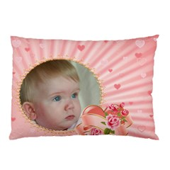 Pink Princess Pillow Case (2 Sided) By Deborah   Pillow Case (two Sides)   32s4rw53xu1i   Www Artscow Com Back