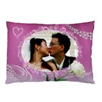 Loving Pink Pillow Case (2 sided) - Pillow Case (Two Sides)