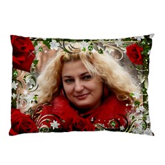 For The Love Of Roses Pillow Case (2 Sided) By Deborah   Pillow Case (two Sides)   0fqi8pz3yg25   Www Artscow Com Front