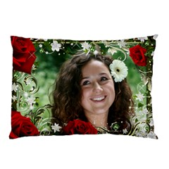 For The Love Of Roses Pillow Case (2 Sided) By Deborah   Pillow Case (two Sides)   0fqi8pz3yg25   Www Artscow Com Back
