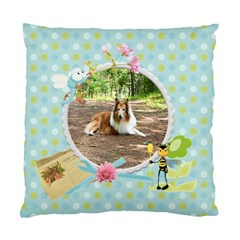 My Back Yard Double Cushion1 By Snackpackgu   Standard Cushion Case (two Sides)   H45j27qe8r3q   Www Artscow Com Front