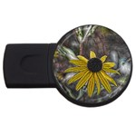 Rudbeckia USB Flash Drive Round (4 GB)