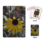 Rudbeckia Playing Cards Single Design
