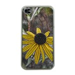 Rudbeckia Apple iPhone 4 Case (Clear)