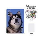 Alaskan Malamute Dog Playing Cards 54 (Mini)