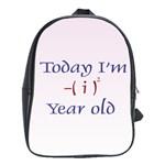 Today I m 1 School Bag (Large)