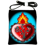 Heart Fire Shoulder Sling Bag