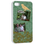 Deco Bird Apple iPhone 4/4s Seamless Case (White)