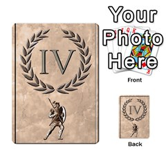 Julius Caesar Cards By Stephen   Multi Purpose Cards (rectangle)   Aoq5yut7ybht   Www Artscow Com Front 8