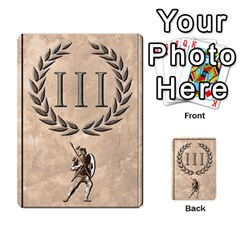 Julius Caesar Cards By Stephen   Multi Purpose Cards (rectangle)   Aoq5yut7ybht   Www Artscow Com Front 9