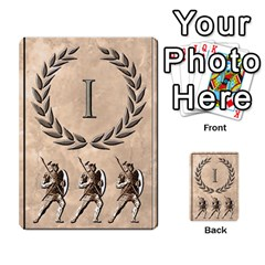 Julius Caesar Cards By Stephen   Multi Purpose Cards (rectangle)   Aoq5yut7ybht   Www Artscow Com Front 25