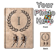 Julius Caesar Cards By Stephen   Multi Purpose Cards (rectangle)   Aoq5yut7ybht   Www Artscow Com Front 26