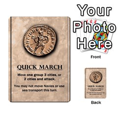 Julius Caesar Cards By Stephen   Multi Purpose Cards (rectangle)   Aoq5yut7ybht   Www Artscow Com Front 31