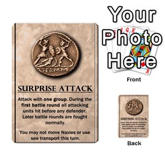 Julius Caesar Cards By Stephen   Multi Purpose Cards (rectangle)   Aoq5yut7ybht   Www Artscow Com Front 32
