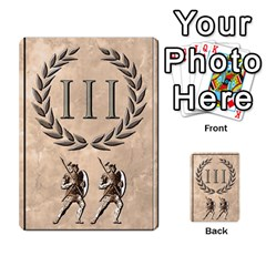 Julius Caesar Cards By Stephen   Multi Purpose Cards (rectangle)   Aoq5yut7ybht   Www Artscow Com Front 39