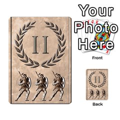 Julius Caesar Cards By Stephen   Multi Purpose Cards (rectangle)   Aoq5yut7ybht   Www Artscow Com Front 43