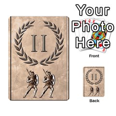 Julius Caesar Cards By Stephen   Multi Purpose Cards (rectangle)   Aoq5yut7ybht   Www Artscow Com Front 45