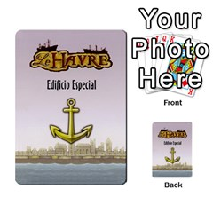 Le Havre  Le Grang Hameau  By Doom18   Playing Cards 54 Designs   L85qfz6xc1xw   Www Artscow Com Back