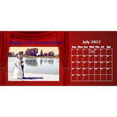 V Day Gift 2 By Christina Hillis   Desktop Calendar 11  X 5    57k09ds9wqsp   Www Artscow Com Jul 2012