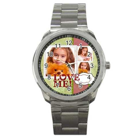 Love By Joely   Sport Metal Watch   Yqipyn6bpytz   Www Artscow Com Front