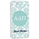 Alpha Delta Pi Sorority iPhone 4/4s Case - Apple iPhone 4/4s Seamless Case (White)
