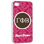 Gamma Phi Beta Sorority iPhone 4/4s Case - Apple iPhone 4/4s Seamless Case (White)