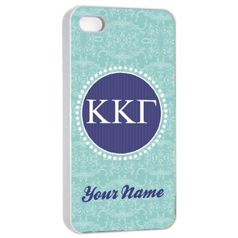 Kappa Kappa Gamma Sorority Iphone 4/4s Case By Klh Front