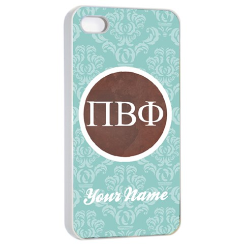 Pi Beta Phi Sorority Iphone 4/4s Case By Klh Front