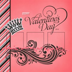 Valentine s Day Kit Pages By One Of A Kind Design Studio   Scrapbook Page 12  X 12    98gg7njaucp7   Www Artscow Com 12 x12 Scrapbook Page - 2