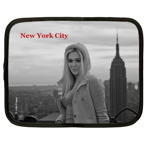Nyc 13  Notebook Case By Lidia D opera   Netbook Case (xl)   Ddqp5zkk9r5f   Www Artscow Com Front