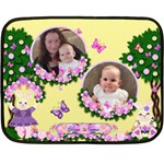 Garden of Love mini blacket - Fleece Blanket (Mini)