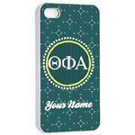 Theta Phi Alpha Sorority iPhone 4/4s Case - Apple iPhone 4/4s Seamless Case (White)