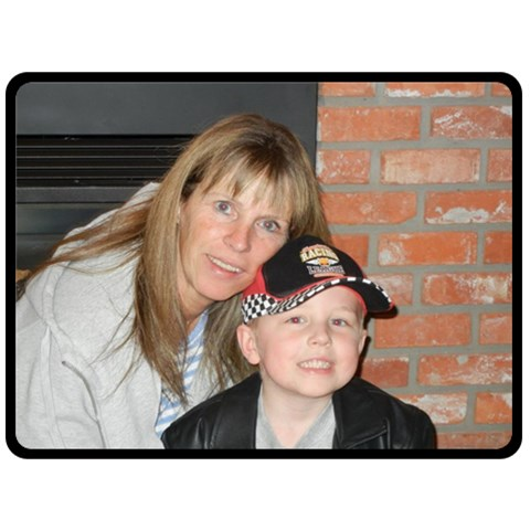 Josie And Braeden   Just An Sample Josie By Pat   Fleece Blanket (large)   Ohqsu0fwamdo   Www Artscow Com 80 x60 Blanket Front