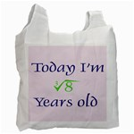 Today I m 2 Recycle Bag (Two Side)