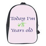 Today I m 2 School Bag (Large)