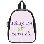 Today I m 2 School Bag (Small)