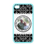 True Love Black, White, & Pink Apple iPhone Case (Color) - Apple iPhone 4 Case (Color)