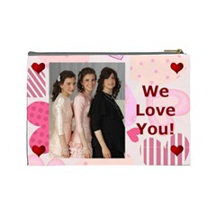 Chani By Rivka Lea   Cosmetic Bag (large)   Lj81vowvm626   Www Artscow Com Back