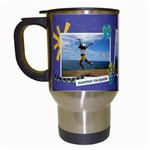Travel Mug: Summer Escapade - Travel Mug (White)