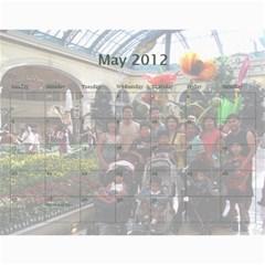 2012 By Phungm   Wall Calendar 11  X 8 5  (18 Months)   5jxjw4kkikuz   Www Artscow Com May 2012