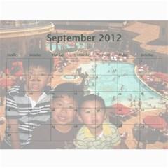 2012 By Phungm   Wall Calendar 11  X 8 5  (18 Months)   5jxjw4kkikuz   Www Artscow Com Sep 2012