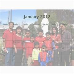 2012 By Phungm   Wall Calendar 11  X 8 5  (18 Months)   5jxjw4kkikuz   Www Artscow Com Jan 2012