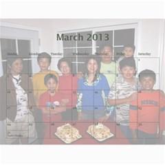 2012 By Phungm   Wall Calendar 11  X 8 5  (18 Months)   5jxjw4kkikuz   Www Artscow Com Mar 2013