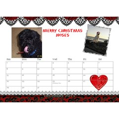 small calendar by Bruce Anderson Dec 2013