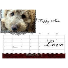small calendar by Bruce Anderson Feb 2013
