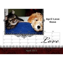 small calendar by Bruce Anderson Apr 2013